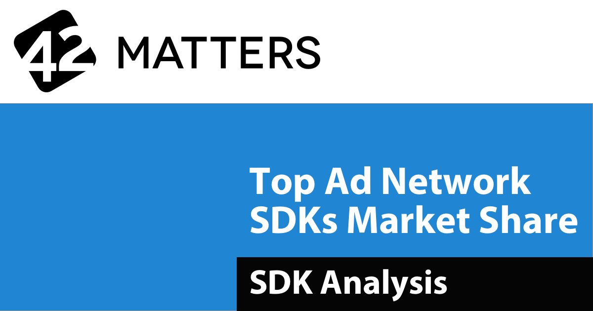 Top 20 Ad Network SDKs Used in Android Apps